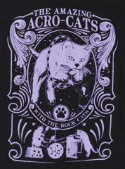 Amazing Acro-Cats Design T-Shirt!