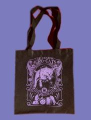 Tote Bag with Acro-Cats and Rock-Cats