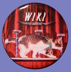 "Wiki ""The Daredevil"" Round Button Magnet"