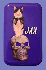 "Jax ""The Troublemaker"" Button/Magnet"