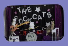 The Original RockCats Button/Magnet