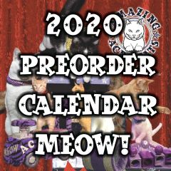 Pre-order your 2020 Acro-cats / Rock Cats Rescue Calendar here!
