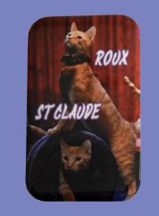 Roux & St Claude Button Magnet