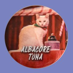 Albacore Tuna Large Button/Magnet