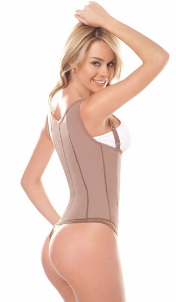 Abdominal Support Vest with hooks and high back