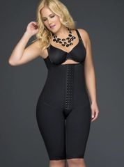 Black Hips and Butt Enhancer Shapewear to the knee