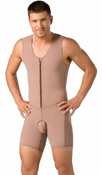 Post abdominal etching Compression Shapewear for men