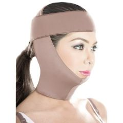 Chin and neck surgery compression face mask