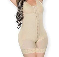 Colombian Garment mid thigh with bra and hooks