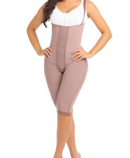 Straight Back strapless abdominal control girdle