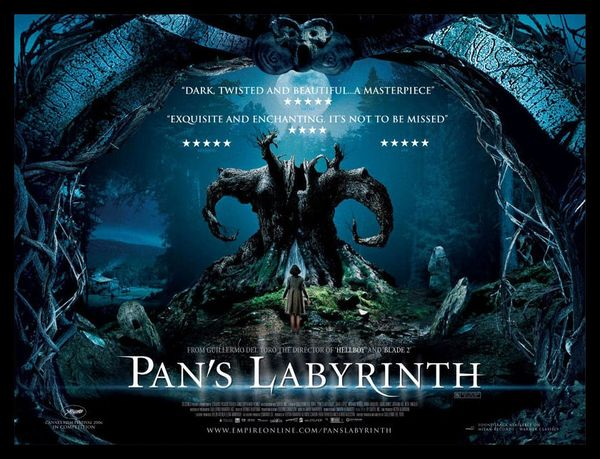 Pans Labyrinth Magnetic Movie Poster FRIDGE MAGNET 6x8 | Fridge ...