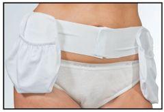 4 Extra Large Drain Holder Pockets and Belt Kit