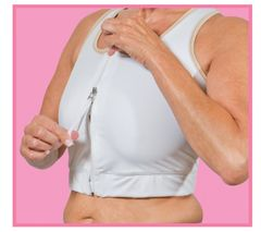 "Cheata ""Easy On"" Medical Compression Bra"