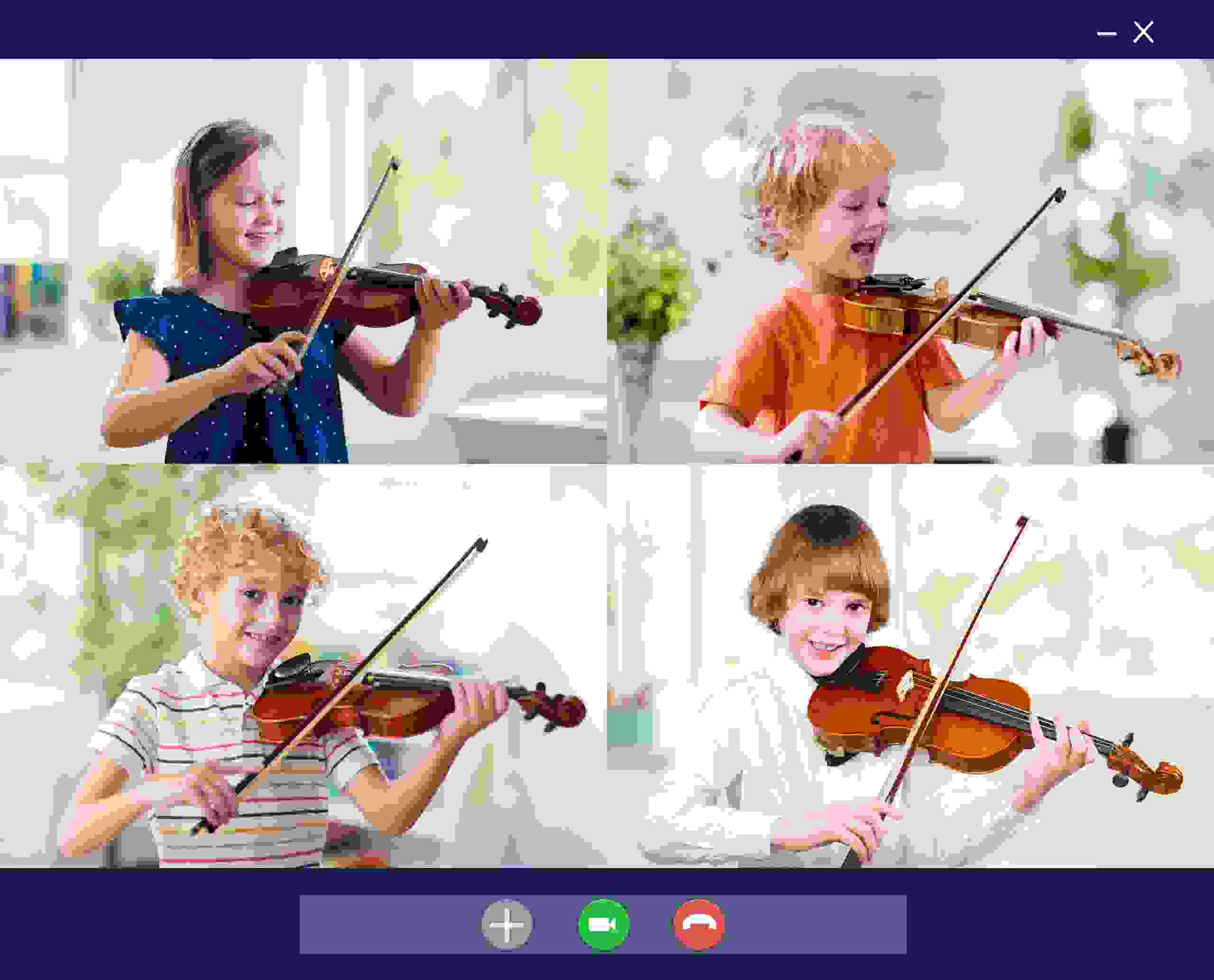 Group Online  Classes, violin lessons