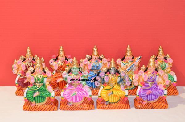 Navagraha Nayagi Set - Clay