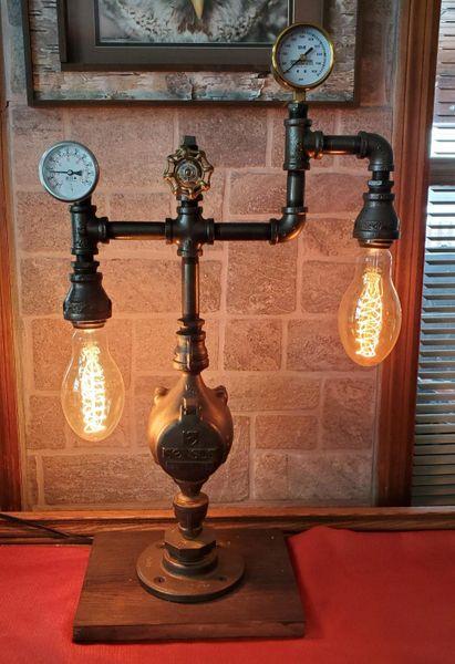 Mr. Willies Water meter industrial lamp