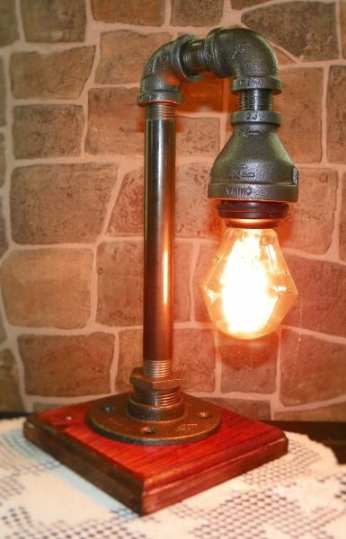 Little Edison With Nostalgic octagon bulb