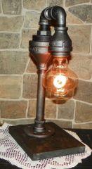 Industrial Edison with water spigot