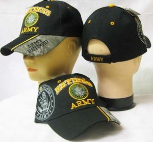 Army Retired Cap