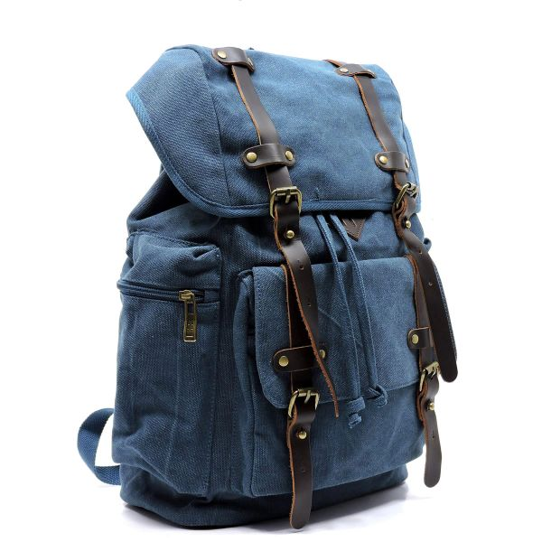 GAP Blue Canvas Lap Top/CCW back Pack