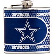 Dallas Cowboys Metallic Flask
