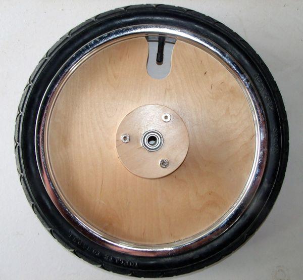 "16"" birch ply centre wheel"