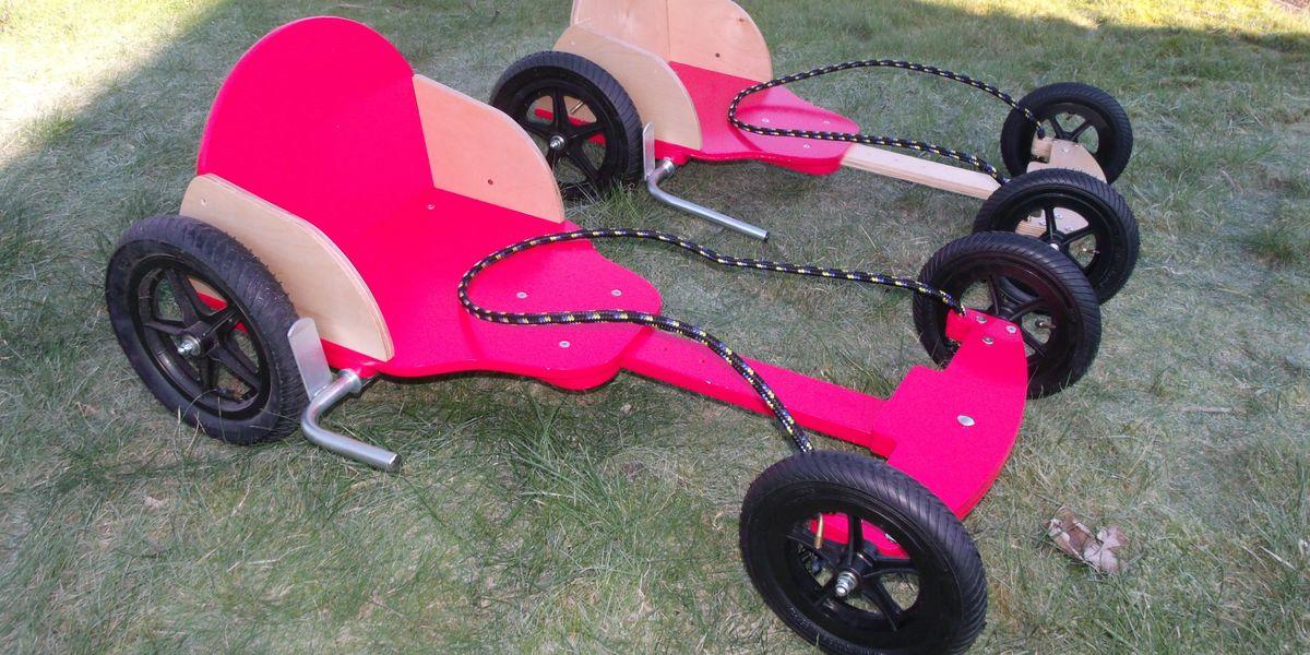 Go Kart Daddy / Wooden Go Karts / BERG & DINO Pedal Karts