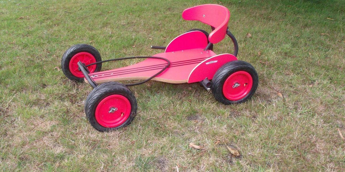 Go Kart Daddy / Wooden Go Kart Shop