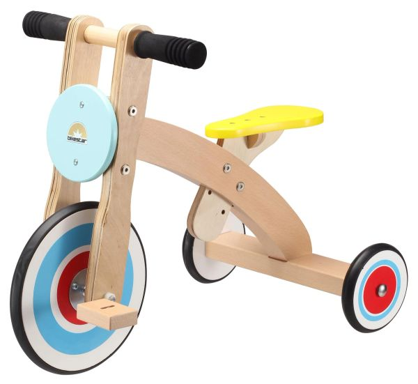Bike Star Blue Wooden Tricycle Ages 2 - 5 years