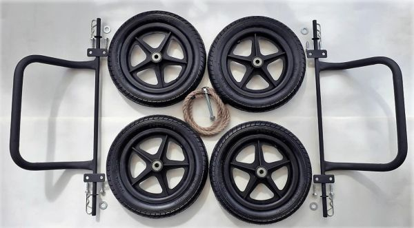 "12"" Wheel & Axle Bumper Set"