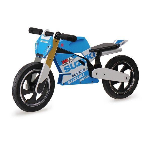 Official Suzuki Grand Prix Wooden Balance Bike Ages 3 - 6 years