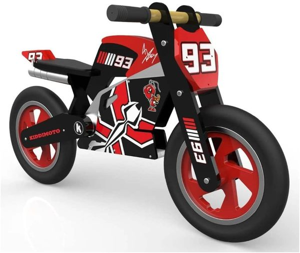 Marc Marquez Wooden Balance Bike Ages 3 - 6 years