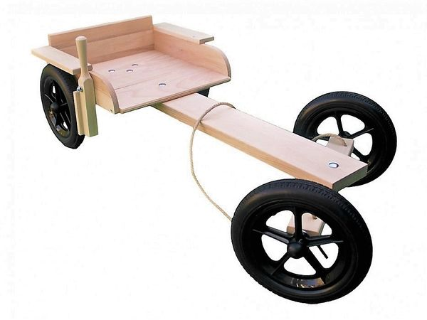 Trail Wooden Kart Tough Enough For Adult Use