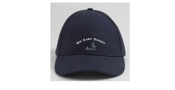 Embroidered GKD Blue Cap with Logo