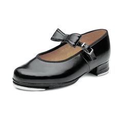Childrens Low Heel Bucklebar Tap SO352