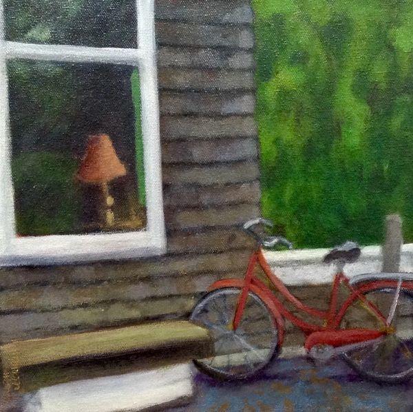 Hiking and Biking to the Barn