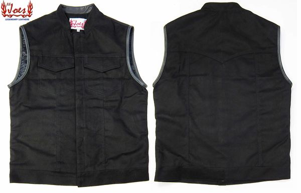 Black Magic Denim Vest