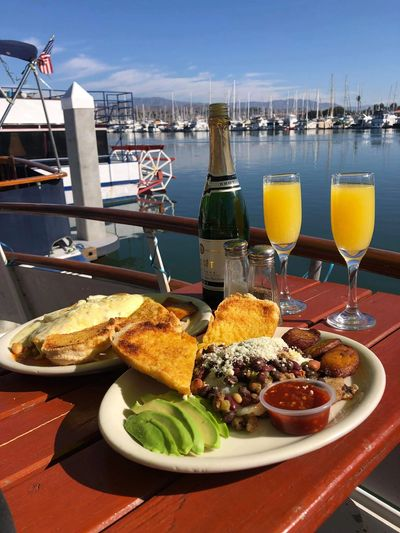 Ask about having a delicious Brunch delivered to your Boatel.