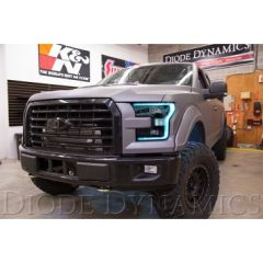 Diode Dynamics 2015-2017 Ford F150 RGBW headlight LED Board Kit