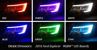 Diode Dynamics 2016-2017 Ford Explorer RGBW Headlight Kit