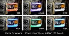 Diode Dynamics 2014-2015 GMC Sierra RGB DRL Boards