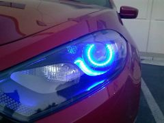 Custom Built 2013+ Dodge Dart Headlights