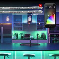8pc 3ft Flex Strip XKchrome App Control Home Indoor & Outdoor LED Accent Light Kit