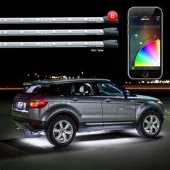XK Glow 8pc 24 inch Underglow Smartphone Kit