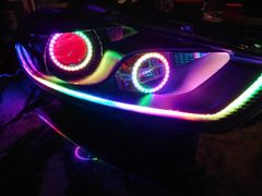 Dodge Dart Herculeds Color Chase halos RGBA