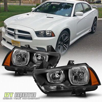2011-2014 Dodge Charger prebuilt headlights (factory style)