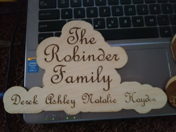 Basic Family Plaque
