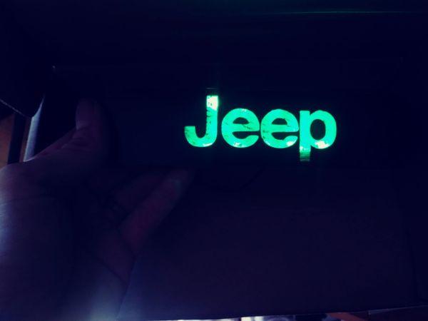 Jeep Illuminated badge