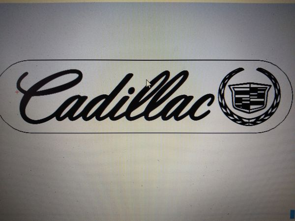 Cadillac Illuminated Badge
