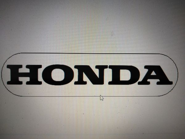 Honda Illuminated Badge